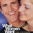 What Women Want Original Movie Poster  Double Sided 27 X40