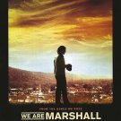 We Are Marshall Movie Poster Double Sided 27 X40 Original
