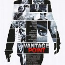 Vantage Point Movie Poster Double Sided 27 X40 Original