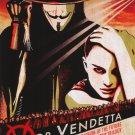V For Vendetta Advance Version C Original Movie Poster Single Sided 27 X40