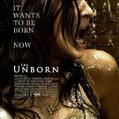 Unborn Original Movie Poster Double Sided 27 X40