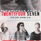 Twentyfour Seven Original Movie Poster Double Sided 27 X40