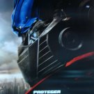 Transformers Protect Spanish Original Movie Poster Double Sided 27 X40