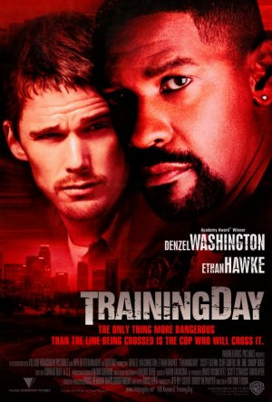 Training Day  Intl  Original Movie Poster Double Sided 27 X40
