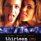 Thirteen  Original Movie Poster Double Sided 27 X40
