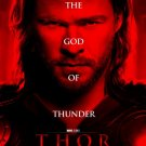 Thor Advance Original Movie Poster Double Sided 27 X40
