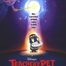 Teacher's Pet Original Movie Poster Double Sided 27 X40