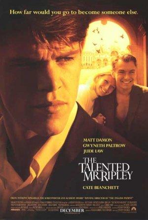 Talented Mr. Ripley Original Movie Poster Single Sided 27 X40