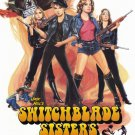 Switchblade Sisters Original Movie Poster Single Sided 27 X40