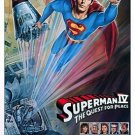 Superman IV Original Movie Poster Single Sided 27 X40