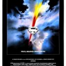Superman I Original Movie Poster Single Sided 27 X40