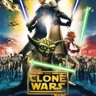 Star Wars Clone of Wars Original Movie Poster Double Sided 27 X40