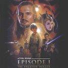Star Wars Episode 1 : The Phantom Menace Regular Original Movie Poster Double Sided 27 X40