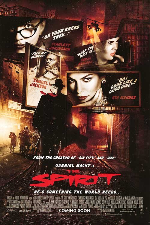 Spirit : My City Screams Intl. Version Double Sided Original Movie Poster 27x40