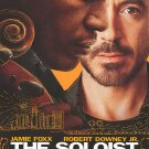 Soloist New Original Movie Poster Double Sided 27 X40