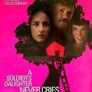 Soldiers Daughter Never Cry Original Movie Poster Double Sided 27 X40