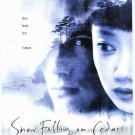 Snow Falling on Cedars  Original Movie Poster Double Sided 27 X40