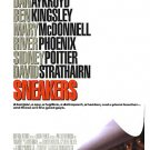 Sneakers Original Movie Poster Single Sided 27 X40