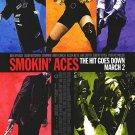 Smokin' Aces Original Movie Poster Double Sided 27 X40