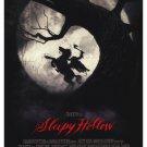 Sleepy Hollow Advance Original Movie Poster Double Sided 27 X40
