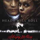 Sleepy Hollow Regular Original Movie Poster Single Sided 27 X40