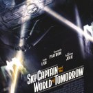 Skycaptain And The World Of Tomorrow A Original Movie Poster Double Sided 27 X40