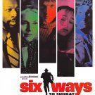 Six Ways To Sunday Original Movie Poster Single Sided 27 X40