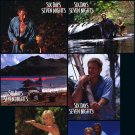 Six Days Seven Nights Lobby Cards 8 pcs per set Original