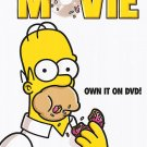 Simpsons The Movie Dvd Poster Original Movie Poster Single Sided 27 X40