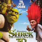 Shrek 4 Forever After Regular Original Movie Poster Double Sided 27 X40