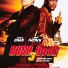 Rush Hour 3 Version A Original Double Sided Movie Poster 27x40