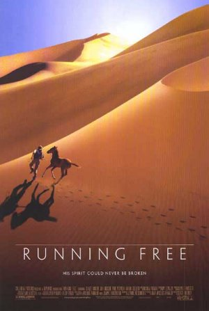 Running Free Original Double Sided Movie Poster 27x40