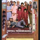 Royal Tenenbaums Original Double Sided Movie Poster 27x40
