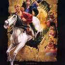 Road to El Dorado version B Original Double Sided Movie Poster 27x40