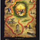 Road to El Dorado Map Original Double Sided Movie Poster 27x40