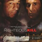 Righteous Kill Regular Original Double Sided Movie Poster 27x40