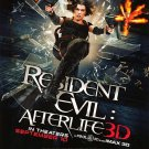 Resident Evil 4 : After Life Regular Original Movie Poster  Double Sided 27 X40