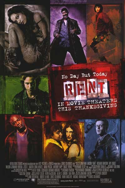 Rent Regular A ( Thanksgiving) Original Movie Poster  Double Sided 27 X40