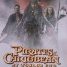 Pirates of the Caribbean 3  Orig Movie Poster Single Sided 22 X25