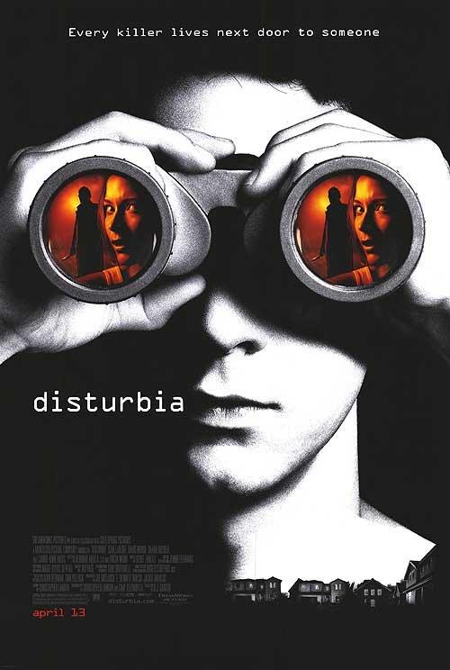 Disturbia Original Movie Poster Double Sided 27x40