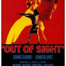 Out of Sight Final Original Movie Poster Double Sided 27 X40