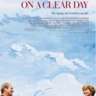 On A Clear Day Movie Poster Double Sided 27 X40