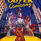 Oliver & Company Movie Poster Double Sided 27 X40