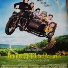 Nanny McPhee Returns Movie Poster Double Sided 27 X40