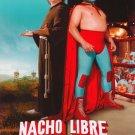 Nacho Libre Reg Ver A Original Movie Poster Double Sided 27 X40