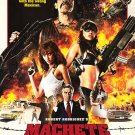 Machete International Original Movie Poster  Double Sided 27 X40