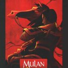 Mulan  Final Original Movie Poster  Double Sided 27 X40
