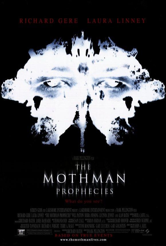 Mothman Prophecies Original Movie Poster  Double Sided 27 X40
