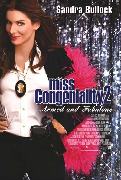 Miss Congeniality Original Movie Poster  Single Sided 27 X40