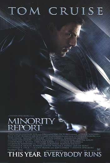 Minority Report Regular Original Movie Poster  Double Sided 27 X40